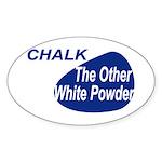 Other White Powder Sticker (Oval)