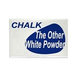 Other White Powder Rectangle Magnet