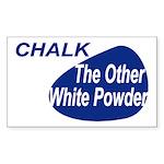Other White Powder Sticker (Rectangle)
