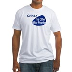 Other White Powder Fitted T-Shirt