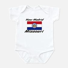New Madrid Missouri Infant Bodysuit