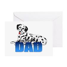Dalmatian Dad Greeting Card