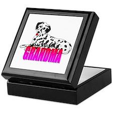 Dalmatian Grandma Keepsake Box