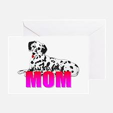 Dalmatian Mom Greeting Card
