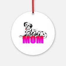 Dalmatian Mom Ornament (Round)