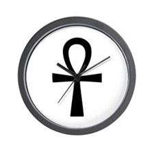 Ankh Cross Wall Clock