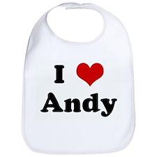 I Love Andy Bib