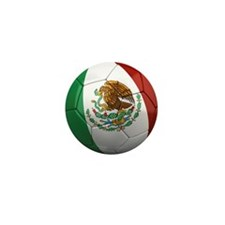 Mexico Soccer Ball Mini Button (100 pack)