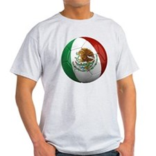 Mexico Soccer Ball T-Shirt