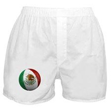Mexico Soccer Ball Boxer Shorts