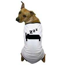 zzz sleeping Dog T-Shirt