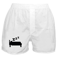 zzz sleeping Boxer Shorts