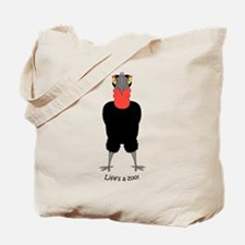 Southern Hornbill Tote Bag