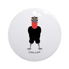 Southern Hornbill Ornament (Round)