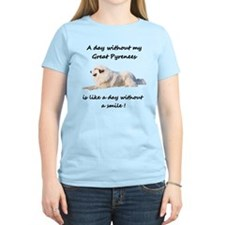 Without my Great Pyrenees T-Shirt