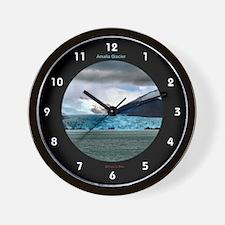 Amalia Glacier - Wall Clock
