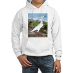 Polish Srebrniak Pigeon Hooded Sweatshirt