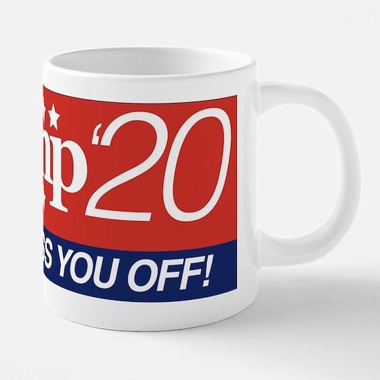 Donald Trump '20 20 oz Ceramic Mega Mug