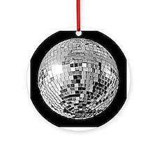 Shiny Disco Mirror Ball Ornament (Round)