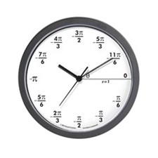 Cute Physicists Wall Clock