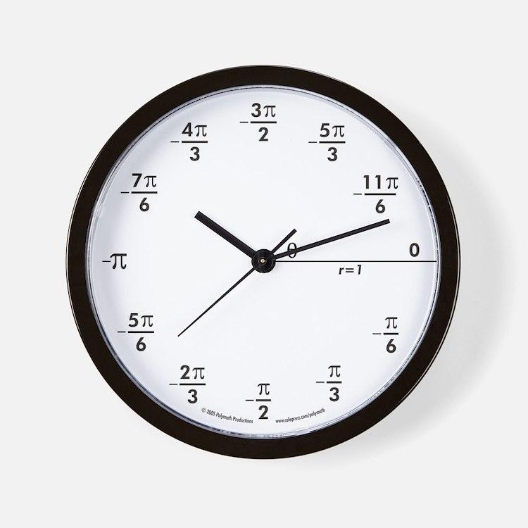 Cute Science humor Wall Clock