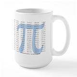 Pi Large Mugs (15 oz)