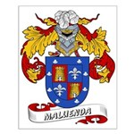 Maluenda Coat of Arms Small Poster