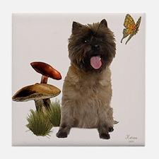 Cairn Terrier Tile Coaster