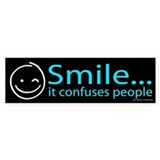 Smile it confuses people Single