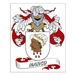 Marco Coat of Arms Small Poster