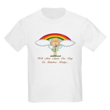 Rainbow Bridge (dog) T-Shirt