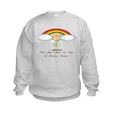 Rainbow Bridge (dog) Sweatshirt