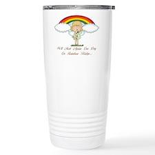 Rainbow Bridge (dog) Travel Coffee Mug