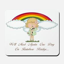 Rainbow Bridge (dog) Mousepad