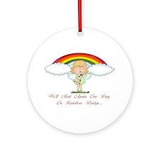 Rainbow Bridge (dog) Ornament (Round)