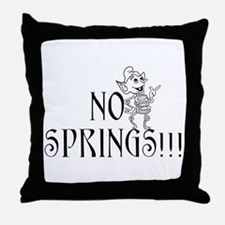 Funny Mystery Throw Pillow