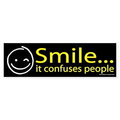 Smile Yellow (sticker)
