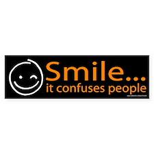 Smile Orange (sticker)