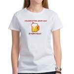 Celebrating Beer Day Everyday Women's T-Shirt