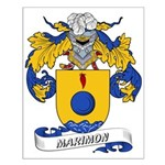 Marimon Coat of Arms Small Poster