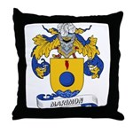 Marimon Coat of Arms Throw Pillow