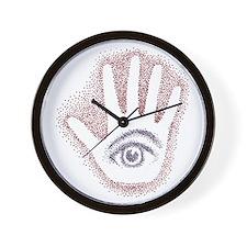 Earthy Petro EyeHand Wall Clock
