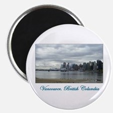 """Downtown Vancouver BC 2.25"""" Magnet (10 pack)"""