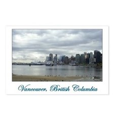 Downtown Vancouver BC Postcards (Package of 8)