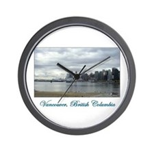 Downtown Vancouver BC Wall Clock