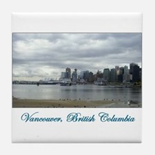 Downtown Vancouver BC Tile Coaster