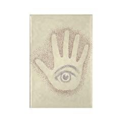 Earthy Petro EyeHand Rectangle Magnet (10 pack)