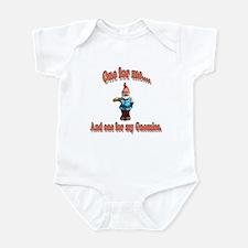 One For My Gnomies Infant Bodysuit