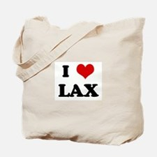 I Love LAX Tote Bag
