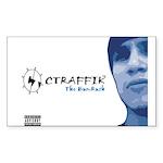 CTRAFFIK The BumRush Rectangle Sticker 50 pk)